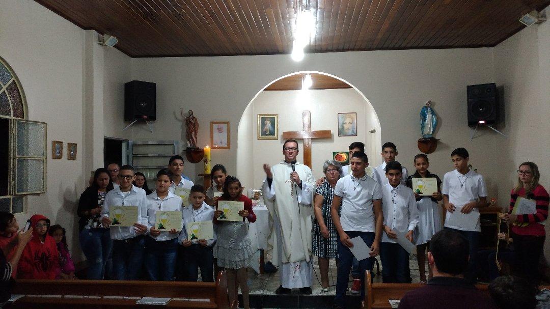 primeira eucaristia  - Comunidade São João Batista
