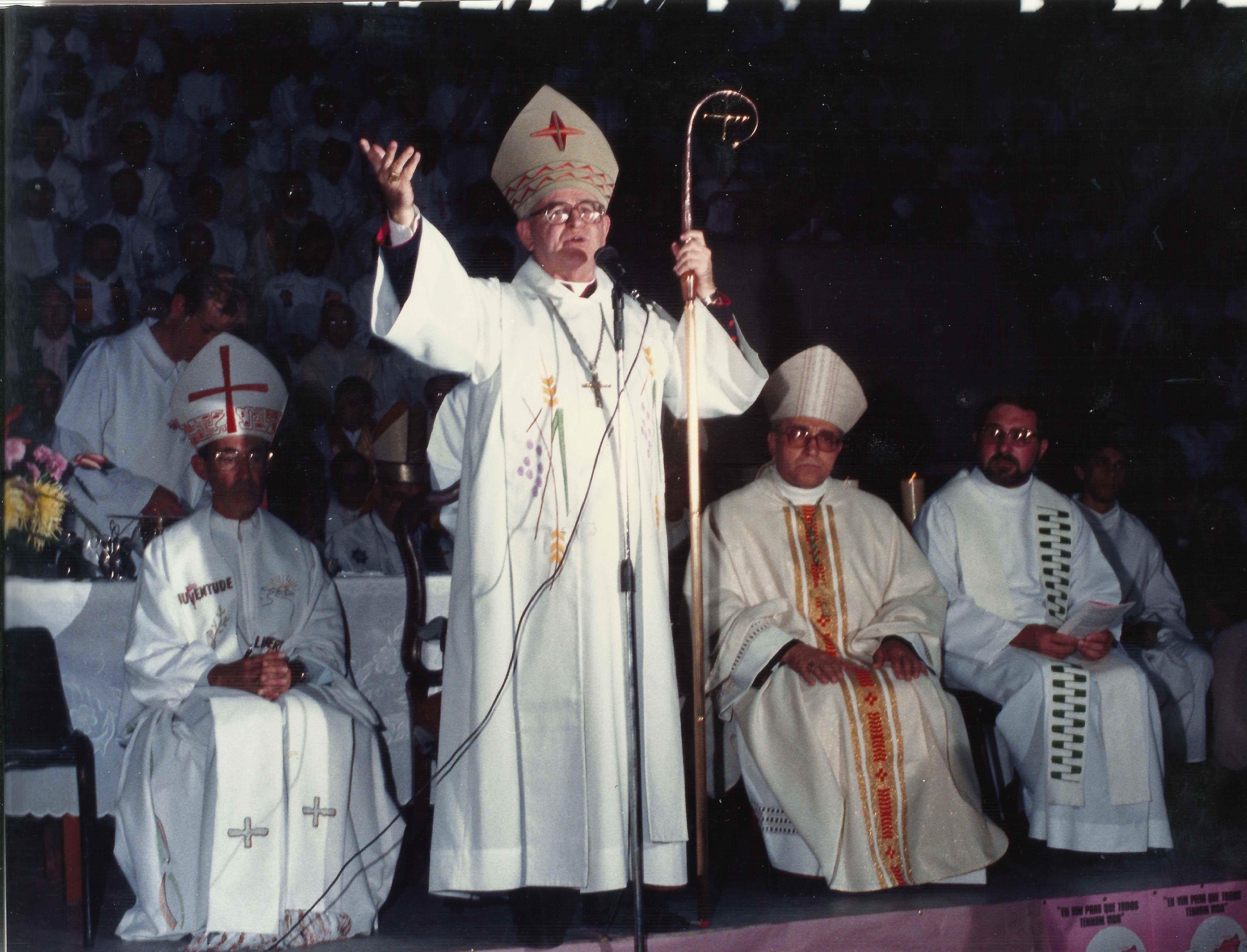 Celebração de Instalação da Diocese de Campo Limpo/1989