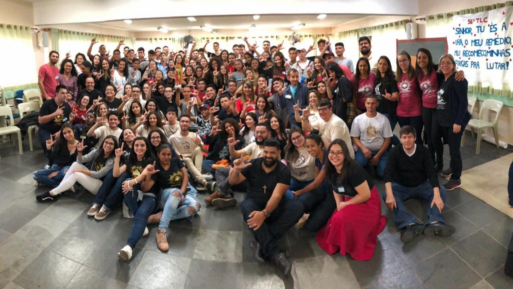 Jovens que participaram do 56º TLC , foto de: Hélder Paixão
