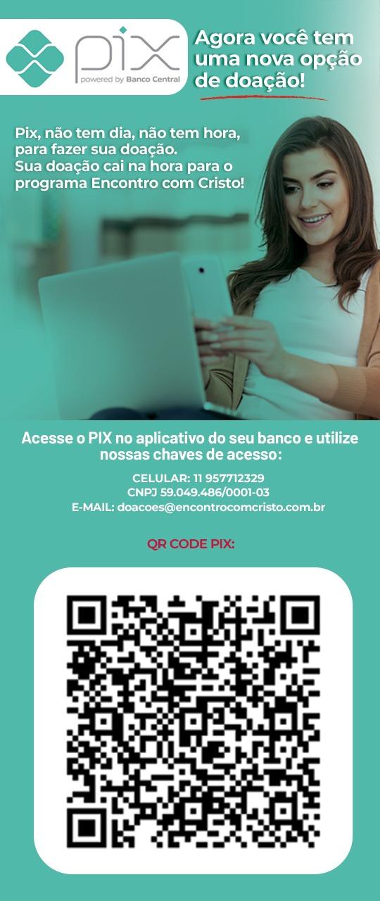 QR Code da doação via PIX