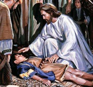 Resultado de imagem para poder da fe jesus cura doentes