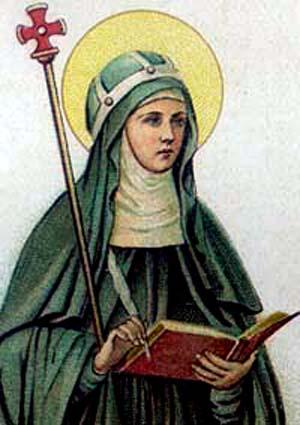 Saint Materne: Sainte Brigitte de Kildare, aussi Mère dans