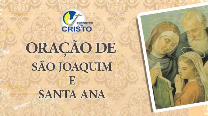 Oração a São Joaquim e Santa Ana