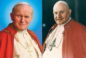 Papa aprova a canonização de João Paulo II e João XXIII