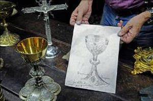 Papa Francisco será presenteado com um cálice de prata