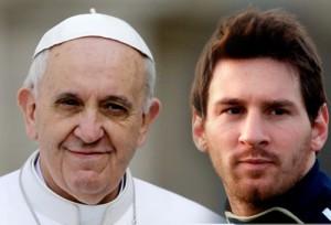 O Papa receberá Messi e a seleção da Argentina