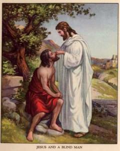 A cura do cego de Jericó, a nossa cura
