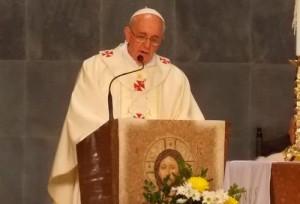 Veja como foi o primeiro Natal do Papa Francisco