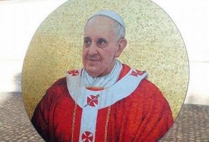 Está pronto o mosaico do Papa para a Basílica de São Paulo