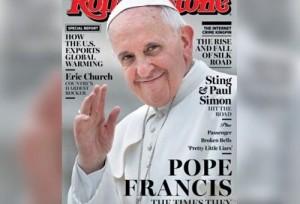 Revista Rolling Stone destaca Papa na capa do mês