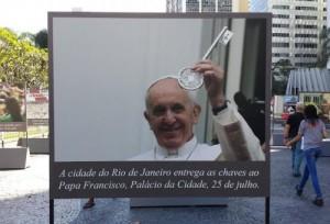 """""""Memória e Missão"""", exposição fotográfica celebra aniversário da JMJ Rio 2013"""
