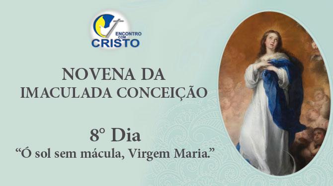 Novena da Imaculada Conceição – 8º Dia