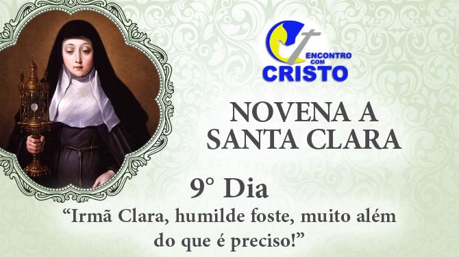 Novena de Santa Clara – 9° dia