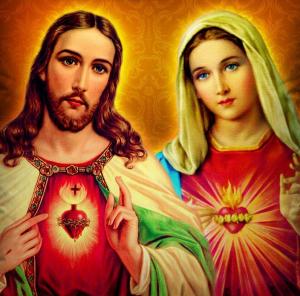 Sagrado Coração de Jesus e Maria