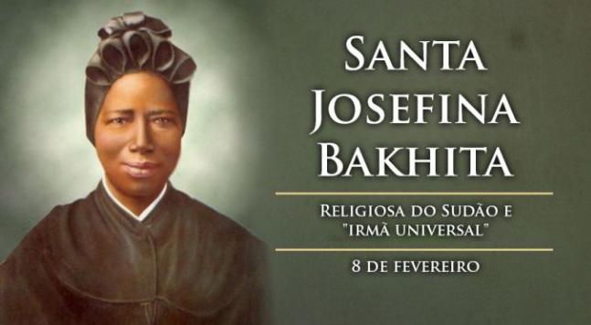 Hoje é celebrada Santa Josefina Bakhita, exemplo de esperança cristã