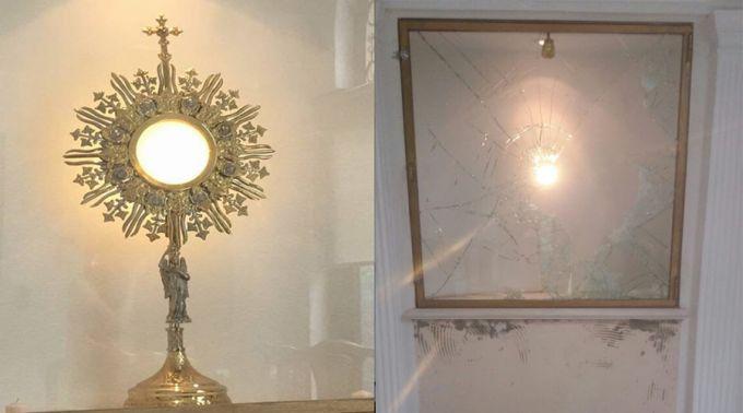 Roubam e profanam a Eucaristia em capela na Argentina
