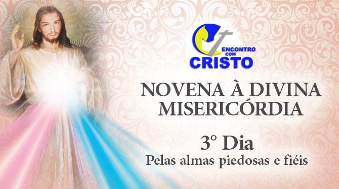 Novena à Divina Misericórdia – 3° dia