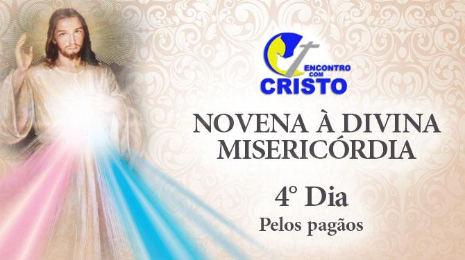 Novena à Divina Misericórdia – 4° dia