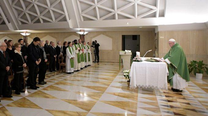 Papa pede aos cristãos que sejam testemunhas do Evangelho sem esperar recompensas