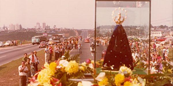 Aparecida comemora 40 anos do restauro da Imagem de Nossa Senhora
