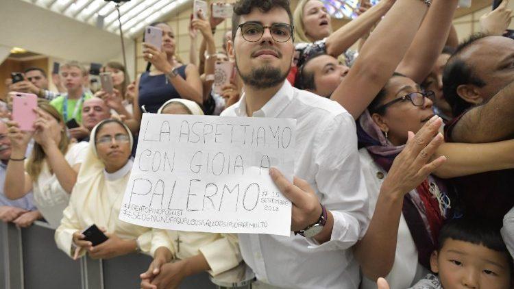 Coral de 250 vozes para a Missa com o Papa em Palermo