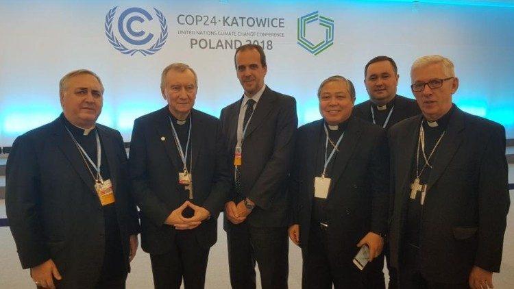 COP 24: Cardeal Parolin pede vontade política clara e forte sobre o clima