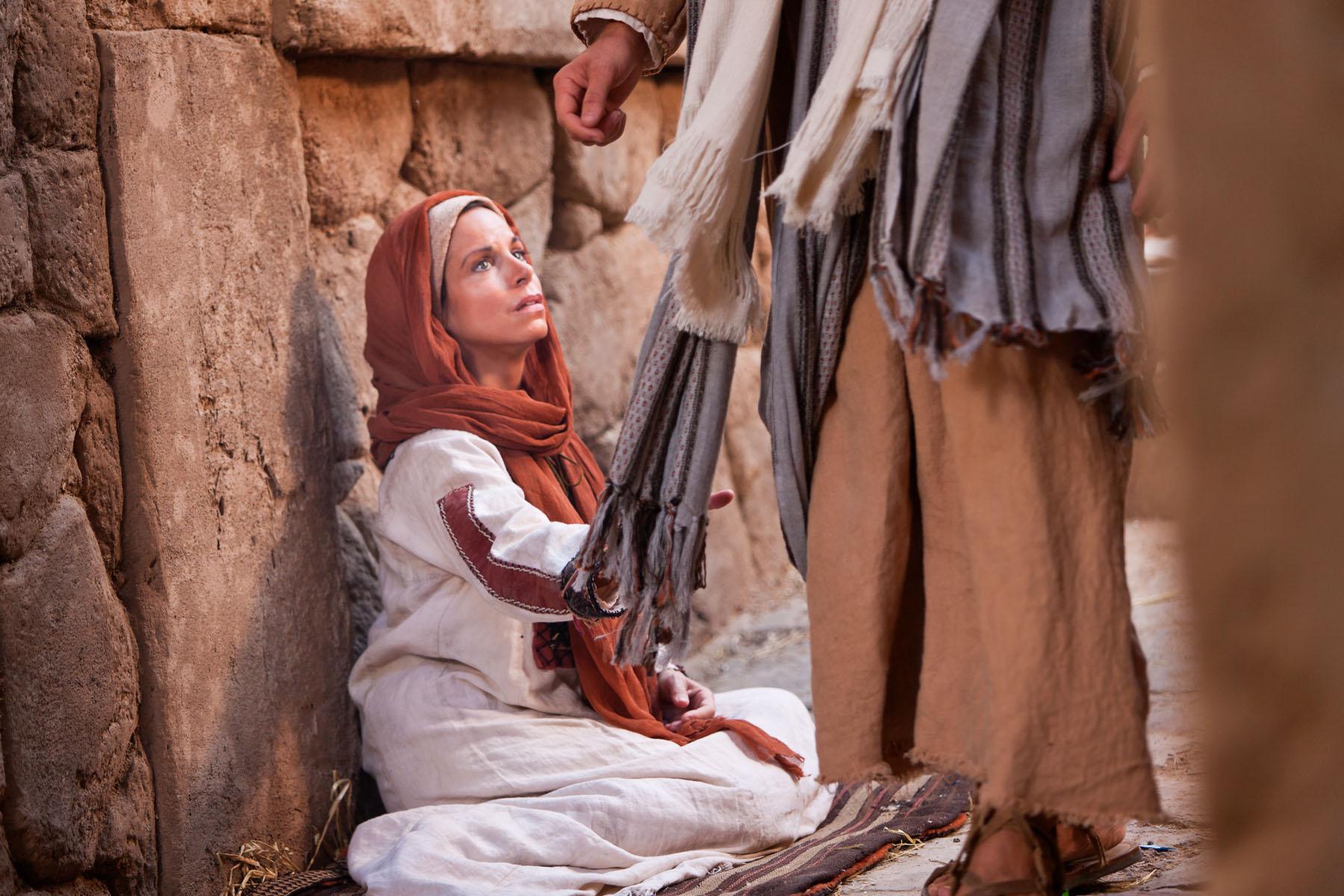 Toque em Jesus, e veja o milagre acontecer