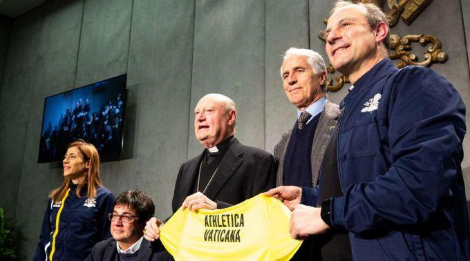Apresentam Athletica Vaticana, a primeira associação esportiva do Vaticano