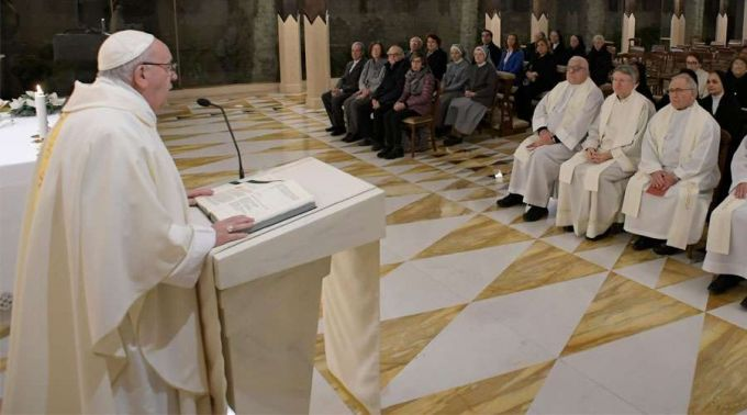 Se você não ama seu irmão, não pode amar a Deus, assegura Papa Francisco
