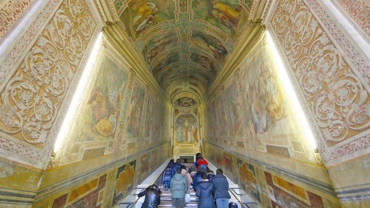 Reabertura da Escada Santa em Roma