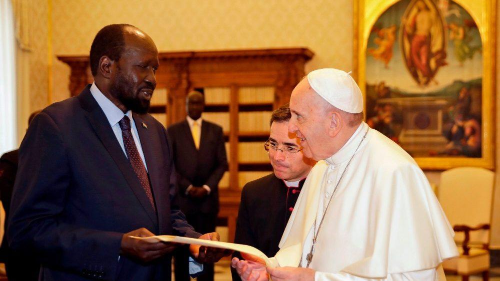 Papa encontra hoje os líderes do Sudão do Sul