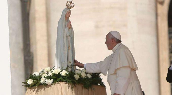 Assim o Papa Francisco recordou Nossa Senhora de Fátima em seu dia