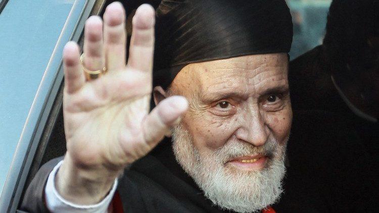 Papa envia pesar por morte de patriarca emérito de Antioquia dos Maronitas