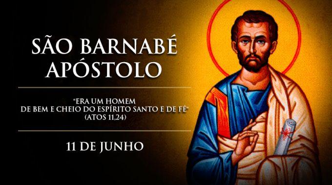 """Hoje é celebrado São Barnabé Apóstolo, o """"Filho da Consolação"""""""