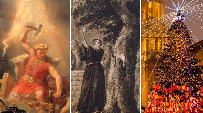 Thor, São Bonifácio e a origem da árvore de Natal