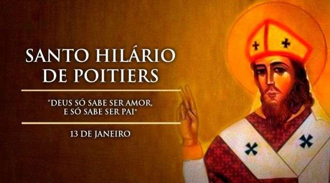 Hoje é celebrado Santo Hilário de Poitiers, doutor da Igreja
