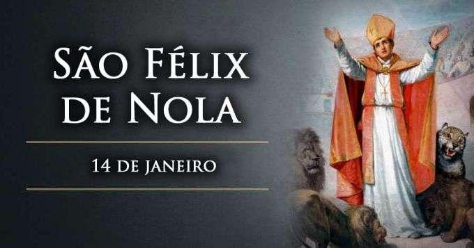 Hoje é celebrado São Félix de Nola, mártir