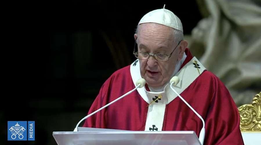 Homilia do Papa Francisco na Solenidade de São Pedro e São Paulo