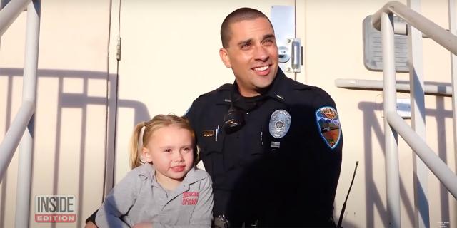 Policial adota garotinha de quem cuidou durante ocorrência