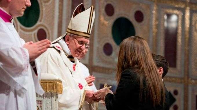 Hoje faz 8 anos que o Papa Francisco tomou posse como Bispo de Roma