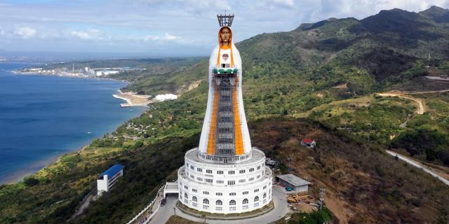 Maior estátua de Maria do mundo é inaugurada e marca sinal de esperança em meio à pandemia